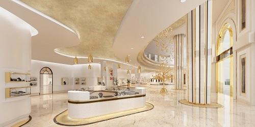Thiết kế showroom kim cương- Đà Nẵng
