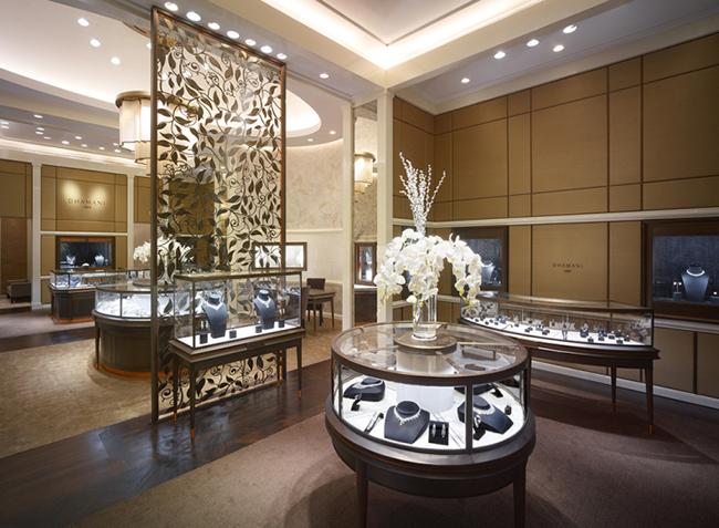 Thiết kế và thi công tiệm nữ trang- landmark 81