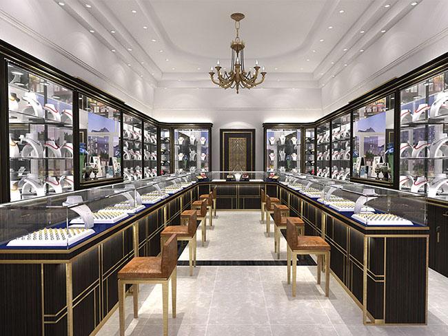 Kệ trưng bày vàng bạc đá quý cao cấp