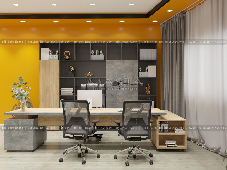 Nội thất được thiết kế, thi công linh hoạt và sáng tạo