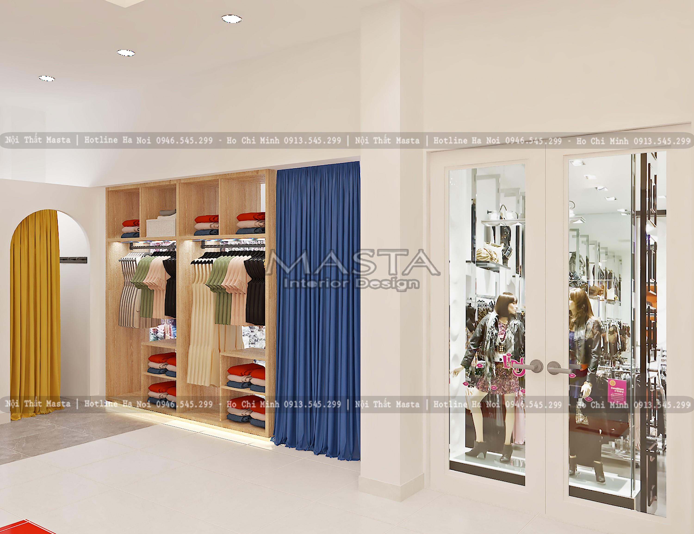 Sử dụng đa dạng thiết kế tủ, giá, kệ trưng bày
