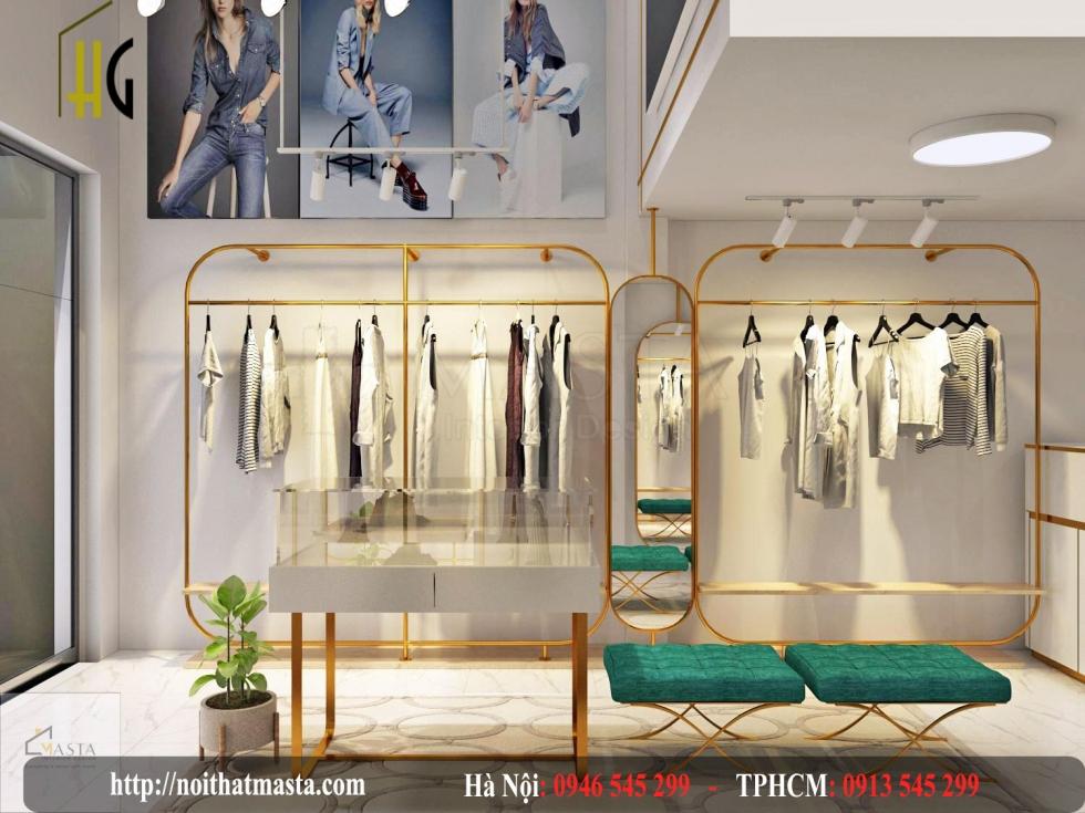 nội thất shop thời trang nữ