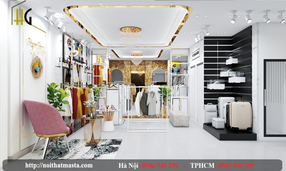 thiết kế shop thời trang Anh Thuận 12