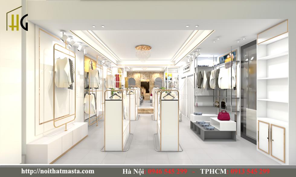 thiết kế shop thời trang Anh Thuận 2