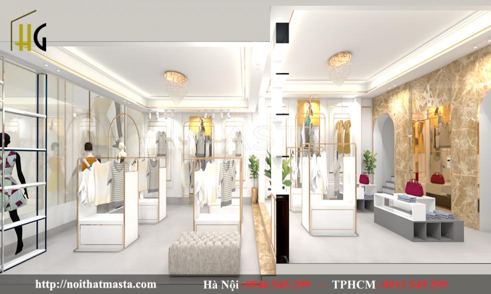 thiết kế shop thời trang Anh Thuận 3