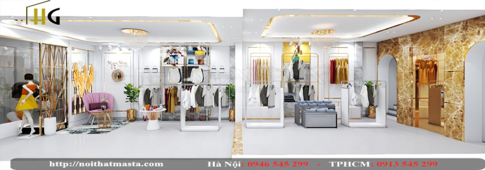 thiết kế shop thời trang Anh Thuận 7