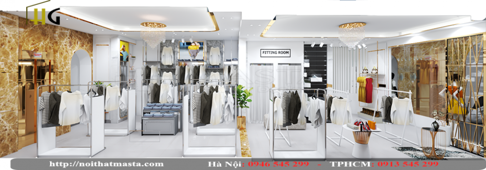 thiết kế shop thời trang Anh Thuận 8